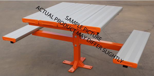 Aluminium Pedestal Seating Solution