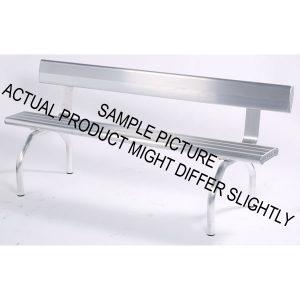 Aluminium Bench Seat with Angled Legs
