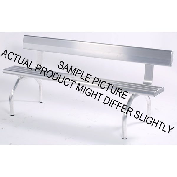Aluminium Bench Seat with Angled Legs