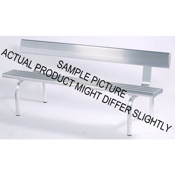 Aluminium Bench Seat with Radius Legs